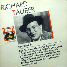 CD RICHARD TAUBER - ein retrato