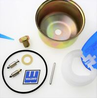 Genuine Walbro LMT Carburetor Kit inlet needle retaining pin bowl float   J31