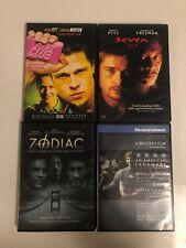 David Fincher Dvd Lot (Fight Club, Se7en, Zodiac, The Social Network)