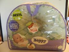 Boppy Slipcovered Pillow Sugar Peas    0-12 months New in Pack