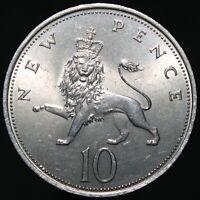 1968 | Elizabeth II 10p | Cupro-Nickel | Coins | KM Coins