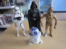 4 X Star Wars Personaggi 13-26 cm Carlsen