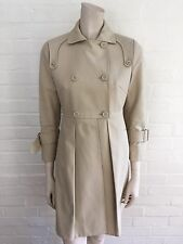 2016  Affordable women's SportMax MAX MARA Pleated Trench Coats I 36 US 2 UK 4