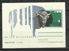 Pologne Polska Poland Polen EP 144 ZOO de Varsovie 50 ans bison bisonte