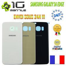 Vitre Arrière/Cache/Capot Batterie SAMSUNG GALAXY S6 EDGE G925 + Adhésif Collé