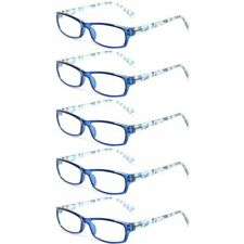 Eyekepper Ladies Reading Glasses 5 Pairs Fashion Readers with Pattern Print