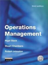 Operations Management,Prof Nigel Slack, Dr Stuart Chambers, Pr ,.9780273646570