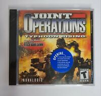 Joint Operations Typhoon Rising Novalogic (PC, Computer Game) Brand New Sealed