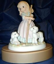 """*RETIRED PRECIOUS MOMENTS  """"BESIDE STILL WATERS""""  SUMMER FIGURINE  $85.00  VALUE"""