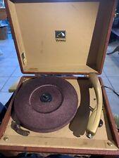 Vintage RCA Victor Victrola Portable Record Player