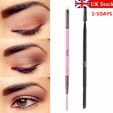 UK Eyebrow and Eye liner Shaping Duo Make up Brush Double Sided Flat Angled MSQ