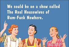 We Could Be On A Show Called The Real Housewives Of... Funny fridge magnet (ep)
