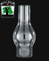 "2 1/8"" X 6 1/2"" ~ Clear GLASS  Oil Lamp CHIMNEY ~ Fits #0 Burners ~  #G7908"