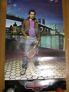 John McEnroe/ Nike / poster-1982/ NYC/ Brkln. Bridge, OK cond./Twin Towers