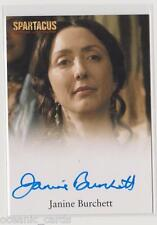 SPARTACUS BLOOD AND SAND TRADING CARDS AUTOGRAPH CARD JANINE BURCHETT DOMINTIA