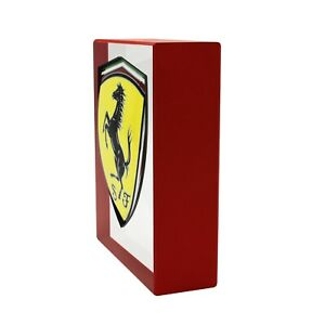 FERRARI GT SCUDETTO PLATE IT PAPERWEIGHT
