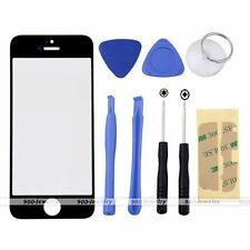 Replacement Front Outer Screen Glass Lens With 8 Tools Kit for Apple iPhone 5C