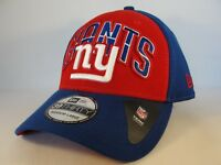 New York Giants NFL New Era 39THIRTY Draft Cap Flex Hat Size M/L Red Blue