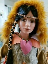 CATHAY COLLECTION 3_5000. NATIVE AMERICAN  DOLL (NUBER 3 FROM 5000).