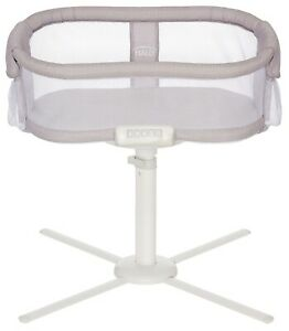 HALO Premiere Next Gen Swivel Sleeper Bassinet Infant Baby Crib Herringbone NEW