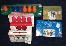 VTG Christmas Bulb LOT Replacement Tree Lights Indoor Outdoor Holiday Crafts