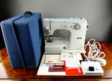 Elna SU Sewing Machine Electric Free Arm with Foot Control Accessories & Case