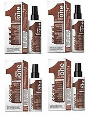 Revlon Uniq 1 All in One COCONUT Hair Treatment Spray 150ml Pack of 4