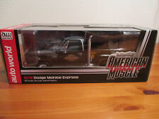 1:18 Ertl American Muscle 1978 DODGE MIDNITE EXPRESS NUOVO conf. orig.