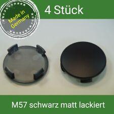 M57 Black Matte Wheel Centre Cap 56 mm BMW, Brock, RC 4 St