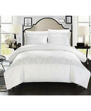 Chic Home Sophia 3 Piece king Duvet Cover Set White $200