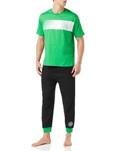 Celtic F.C. Mens Cotton Pyjamas Celtic PJs Official Merchandise Size XS to XXL