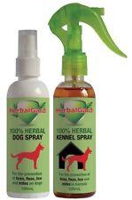2x Herbalgard non chemical dog flea, tick , mites etc, spray
