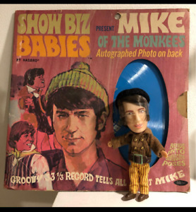 HASBRO SHOW BIZ BABIES THE MONKEES MIKE CARDED RARE VINTAGE TOYS DOLLS 1967