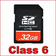 32GB Class 6 SDHC SD Speicherkarte HC Card Karte 32 GB