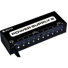 Joyo JP-02 9V 12V 18V DC Out Guitar & Bass Effects Pedal Pedalboard Power Supply