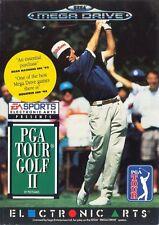 Sega Mega Drive Golf PAL Video Games with Manual