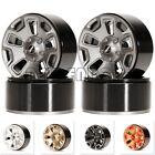 "Beadlock Wheel Rims Hub 1.9"" for 1/10 RC Crawler Jeep Wrangler SCX10 90046 TRX4"