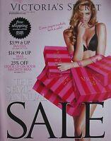 CANDICE SWANEPOEL Semi-Annual Sale 2011 VICTORIA'S SECRET Catalog Volume 1