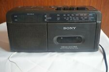 SONY DREAM MACHINE ICF-C610L FM MW LW CASSETTE TAPE PLAYER CLOCK RADIO
