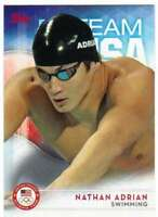 2016 Topps US Olympic Team USA Hopefuls #67 Nathan Adrian  Swimming