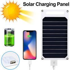 Panneau de charge solaire pour chargeur USB 10W 5V pour tablette Samsung IPhone