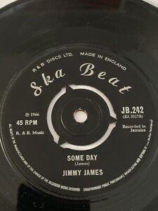 Jimmy James  Someday / Your love Original  Ska Beat 1966 Nice copy !!!