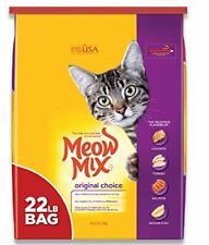 New listing Meow Mix Original Choice Dry Cat Food 22 Lb. Bag New