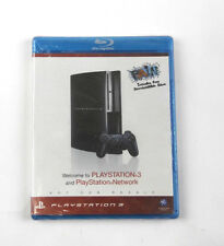 WELCOME To PLAYSTATION 3 PS3 PLAYSTATION NETWORK Blu-Ray DVD DISC FREE SHIPPING
