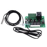 12V W1209 -50-110° White Digital Thermostat Temperature Control Sensor Cable