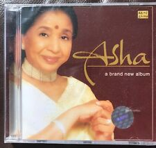 Asha Bhosle - A Brand New Album CD.  Saregama RPG.  STILL SEALED.