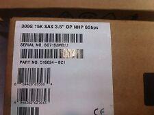 516824-B21  - 300GB 6G SAS 15K LFF (3.5-inch) Non-hot Plug Dual Port ENT 3y Wty