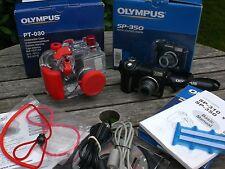 Olympus SP-350 + Pt 030 UW-Gehäuse