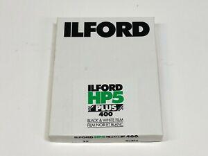 Ilford HP5 400 Plus B&W Negative Print Film 4 x 5, 25 Sheets