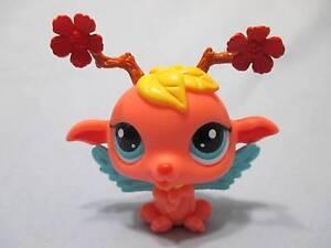 Littlest Pet Shop Majestic Masquerade Fairy Orange 2832 Authentic Lps